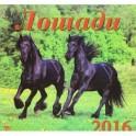 """Календарь настенный на 2016 год """"Лошади"""" (70603)"""
