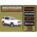 Toyota Hilux Surf / 4Runner с 2002 г.в. Руководство по эксплуатации. Техническое обслуживание