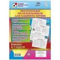 """Комплект плакатов """"Инструктажи по безопасности для кабинета химии"""" (4 плаката)"""