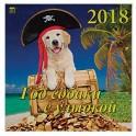 """Календарь на 2018 год """"Год собаки с улыбкой"""""""