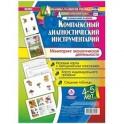 Комплексный диагностический инструментарий. Мониторинг экологической деятельности детей 4-5 лет