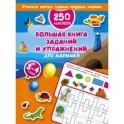 Большая книга заданий и упражнений для малышей. 3-4 года