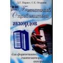 Безнотный определитель аккордов для фортепиано, синтезатора, аккордеона