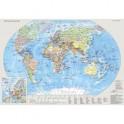 Настольная карта Мир и Россия