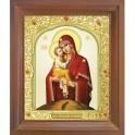 Почаевская икона Божией Матери. 15x18