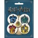 Набор значков. Гарри Поттер (комплект из 5 значков)