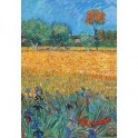 Обложка для паспорта. Ван Гог. Пшеничное поле
