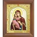 Владимирская икона Божией Матери. 10x12