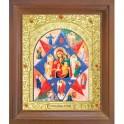 Икона Неопалимая Купина. 10x12