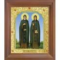 Икона Петра и Февронии. 15x18