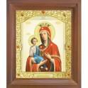 Икона Троеручица. 15x18
