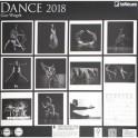 """Календарь настенный """"Танец"""" на 2018 год"""