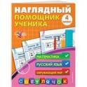 Наглядный помощник ученика 4-го класса. Математика. Русский. Окружающий мир. ФГОС