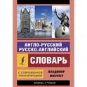 Англо-русский и русско-английский словарь с современной транскрипцией