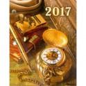 """Календарь настольный перекидной на 2017 год """"Ретро-стиль"""" (43012)"""