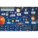 Солнечная система. Карта на картоне