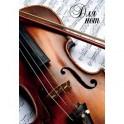 """Тетрадь для нот """"Скрипка"""", А4, 12 листов"""
