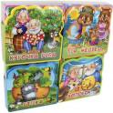 Подарочный набор книг для детей. Мои любимые сказки (комплект из 4 книг)