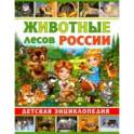 Животные лесов России. Детская энциклопедия
