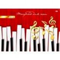 """Тетрадь для нот """"Клавиши и ноты"""" (8 листов, А4) (08-7148)"""