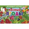 Лесные ягоды. Обучающие карточки