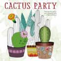 Cactus party. Раскраска-оазис для творчества