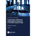 О некоторых проблемах арбитражного процесса и способов защиты прав. Сборник очерков. Часть 1