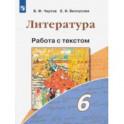 Литература. 6 класс. Работа с текстом