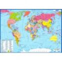 Планшетная карта Мира. Политическая. Двусторонняя