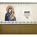 """Православный календарь 2020 """"Иконы Божией Матери"""" (настольный календарь, домик)."""