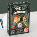 """Игральные карты """"Покерные"""", 54 карты, 6,3 x 8,8 см"""