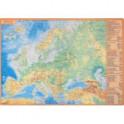Планшетная карта Европы, А3, политическая/физическая