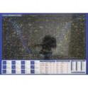 Планшетная карта Солнечной системы/звездного неба, А3