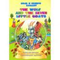 The wolf and the seven little goats. Волк и семеро козлят. Книжки для малышей на английском языке