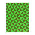 """Записная книжка """"Треугольники на зеленом"""" (80 листов, твердый переплет)"""