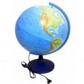 Глобус Земли физ. d400 подсветка Ке014000244