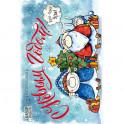 """Набор открыток для посткроссинга """"Год свиньи"""". С Новым годом!"""