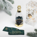 Пожелания в бутылке «Новогодний кураж», 12x5см