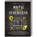 """Жиры против углеводов. Книга-компас о том, как правильные жиры из продуктов """"расплавляют"""" нездоровые"""