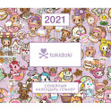 Вселенная tokidoki. Настенный календарь-планер на 2021 год