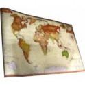 Интерьерная карта Мира (Экодизайн)