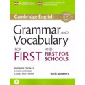 Gram and Vocabulary for First/FirstSchBk w/ans.Aud