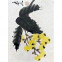 Иллюстрации к Комплект открыток Ци Байши 21 штука