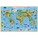 """Карта """"Наша планета. Животный и растительный мир"""""""