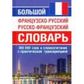 Большой французско-русский русско-французский словарь. 380 тыс.слов и словосочетаний с транскрипцией